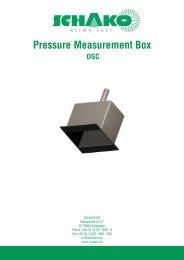 Pressure Measurement Box - Schako