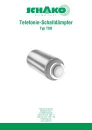 Telefonie-Schalld≤mpfer - Schako