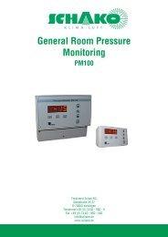 General Room Pressure Monitoring - Schako