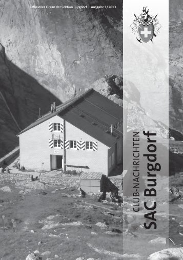 Bulletin 2013-01 - beim SAC Burgdorf