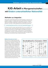 Interkulturelle Methoden - KJG Diözesanverband Paderborn