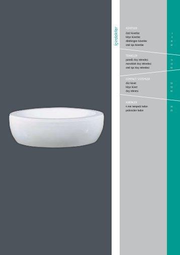 monoblok duş tekneleri - Serel