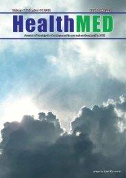 Volume 7 - No. 5 - HealthMED Journal