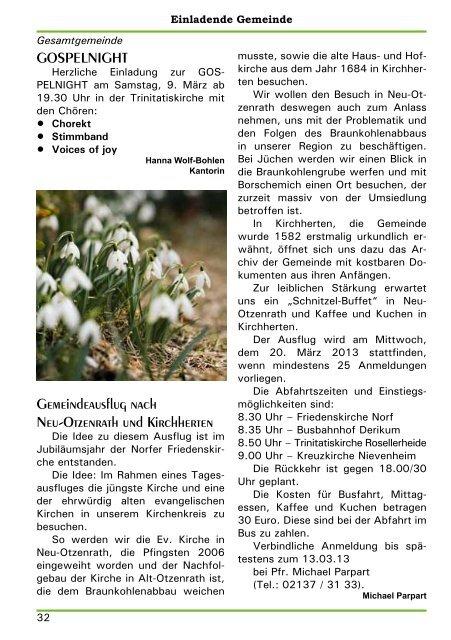 www.norf-nievenheim.de März / April / Mai 2013 Öffne ... - von DF 2 JB