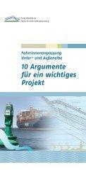 10 Argumente für ein wichtiges Projekt