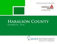 Community Assessment Report - Haralson County