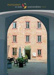 Festschrift 20 Jahre Seniorenbüro - Stadt Trier