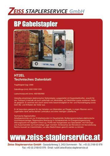 HT2EL Technisches Datenblatt - Hyundai Gabelstapler - Home