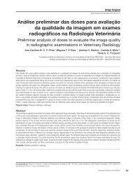 Análise preliminar das doses para avaliação da qualidade ... - ABFM