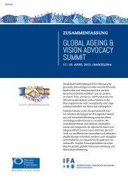 global ageing & vision advocacy summit - International Federation ...