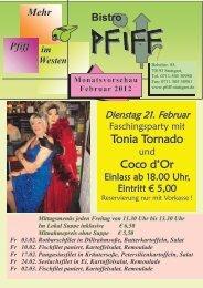Monatsvorschau Februar 2012 - Pfiff Stuttgart