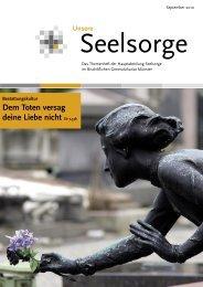 Unsere Seelsorge - Bestattungskultur - Bistum Münster