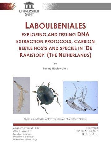 LABOULBENIALES - Agentschap voor Natuur en Bos