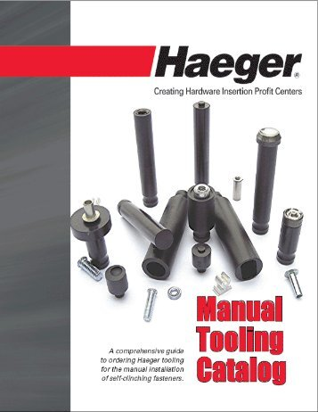 Manual Tooling Catalog - phillips corporation