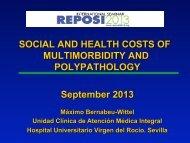 The social and health costs - International Seminar REPOSI 2013