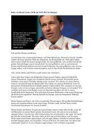Rede von Bernd Lucke in Stuttgart - Alternativprogramm2012