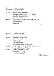 Vorschlag Nr. 1: Kaltes Buffet Fleisch: Spargel-Schinken-Röllchen ...