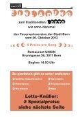 zum traditionellen Lotto des Feuerwehrvereins der Stadt Bern - Seite 2