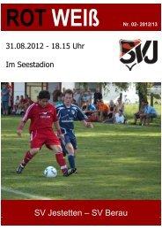 RotWeiss 02 SV Berau - SV Jestetten