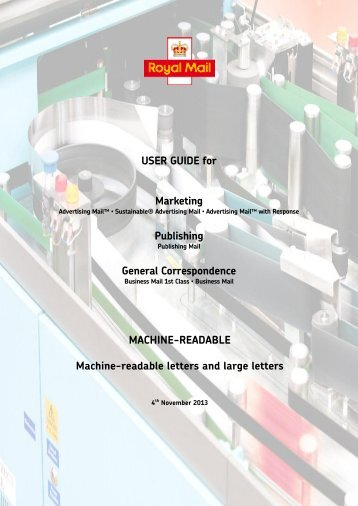User Guide - Royal Mail Technical