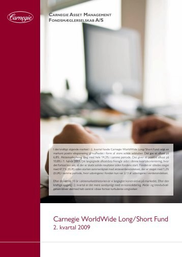 Carnegie WorldWide Long/Short Fund - Carnegie Asset Management