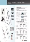 Leitern · Gerüste · Tapeziertische 09 - Werkzeugkatalog Geno - Seite 5