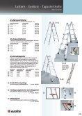 Leitern · Gerüste · Tapeziertische 09 - Werkzeugkatalog Geno - Seite 6