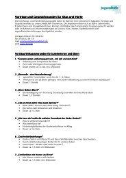 Vorträge und Gesprächsrunden für Kita Vorträge und ...