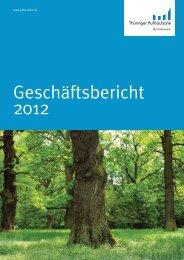 Geschäftsbericht Thüringer Aufbaubank
