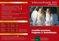 Ausstellerverzeichnis und Programm - Schloss Dyck