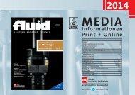 Die brandneuen Mediadaten 2014 der fluid...