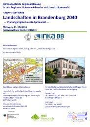 Landschaften in Brandenburg 2040 - Hochschule für nachhaltige ...