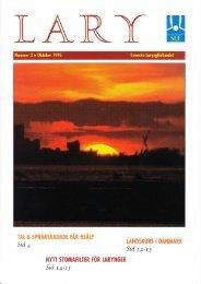 LARY NR 3 - 1995 - Mun