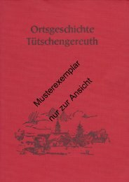 Chronik Teil I - Tütschengereuth