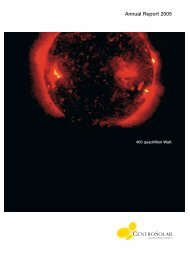 Solar Integrated Systems - CENTROSOLAR Group