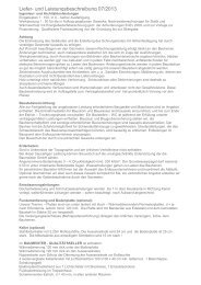 Liefer- und Leistungsbeschreibung 07/2013 - Immozentral.net
