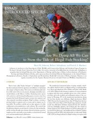 Article - Stop Illegal Stocking of Aquatic Organisms - Colorado ...