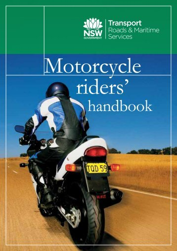 Motorcycle Riders Handbook - Roads and Maritime Services