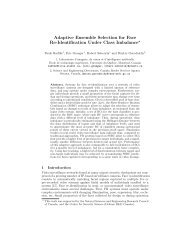 Adaptive Ensemble Selection for Face Re-Identification Under Class ...
