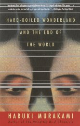 Hard-Boiled Wonderland and the End of the World - WordPress.com