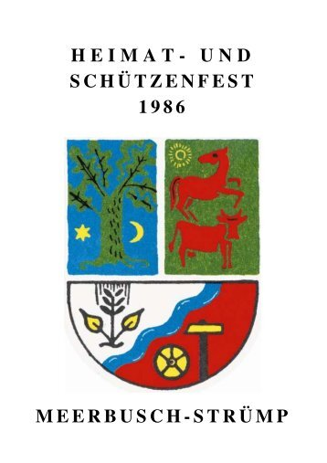 Jahr 1986 - Heimat- und Schützenverein Strümp 1865 eV