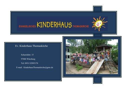 Konzeption - Kinderhaus Thomaskirche