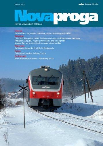 Nova proga - Slovenske železnice