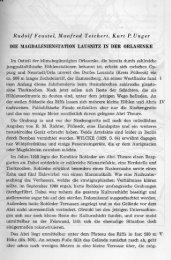 Rudolf Feustel, Manfred Teichert, Kurt P. Unger DIE ...
