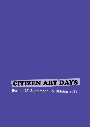 Citizen Art DAys