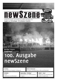 100. Ausgabe newSzene - szene e reutlingen 2005