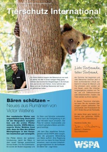 Tierschutz International - Welttierschutzgesellschaft eV