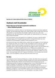 Stadtwerk statt Stromhändler - Bündnis 90/Die Grünen im ...