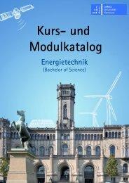 Modulkatalog WS 2013/14 - Fakultät für Elektrotechnik und Informatik