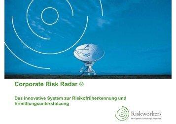 Corporate Risk Radar ® - Riskworkers